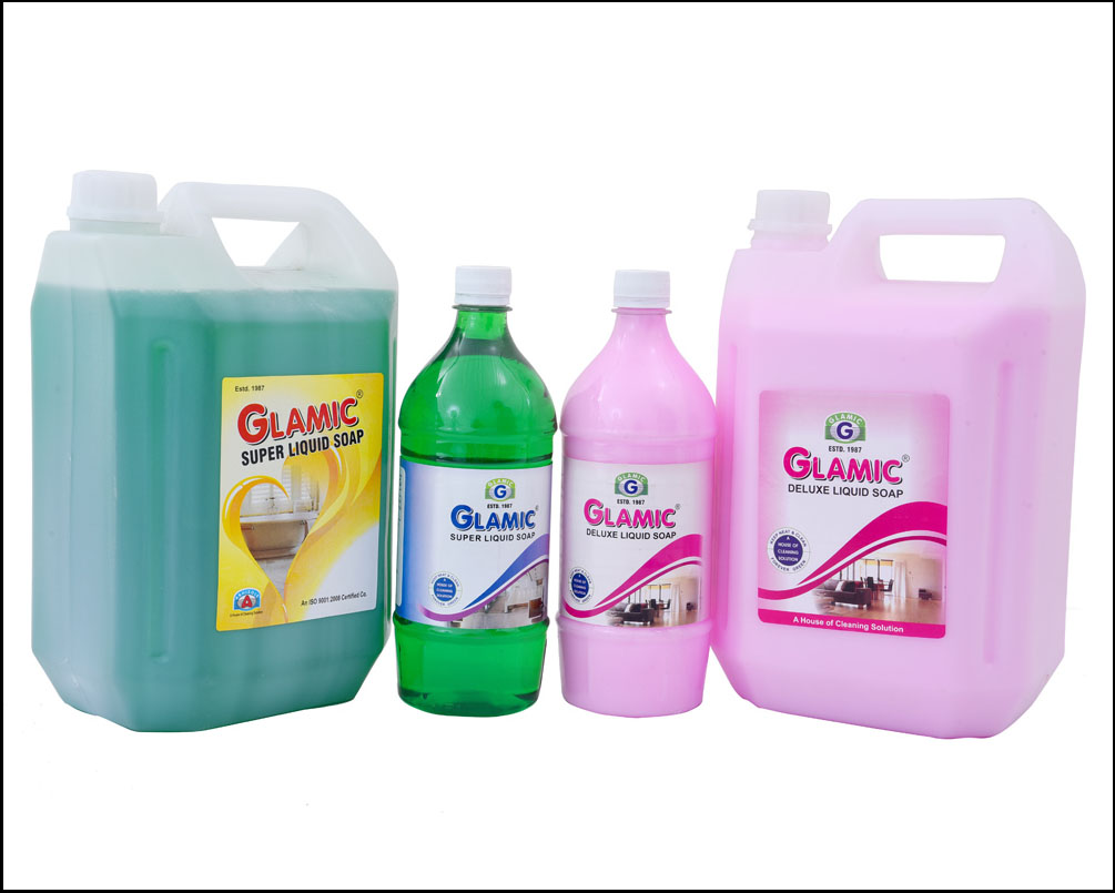 Deluxe Super Liquid Soap Glamic Hygiene Products
